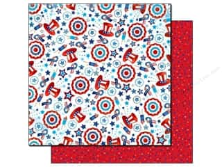 Best Creation Paper 12x12 Love America Confetti (25 sheets)