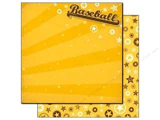 Best Creation Paper 12x12 Baseball (25 sheets)