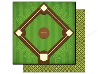 Best Creation Paper 12x12 Baseball Bases Loaded (25 sheets)
