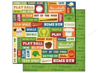 Best Creation Paper 12x12 Baseball Spirit (25 sheets)