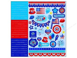 Alphabet Stickers / Number Stickers: Best Creation Sticker Combo Love America