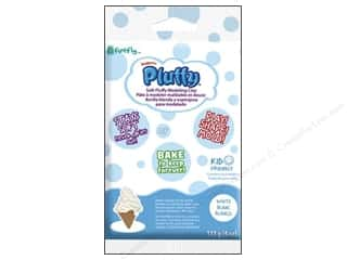Sculpey Pluffy Clay 4oz White