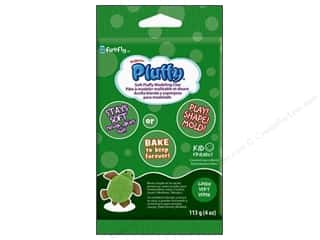 Sculpey Pluffy Clay 4oz Green