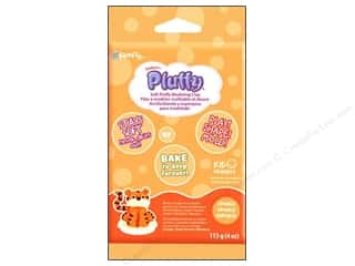 Sculpey: Sculpey Pluffy Clay 4oz Orange