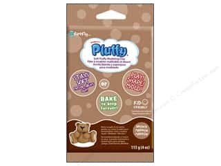 Sculpey Pluffy Clay 4oz Brown