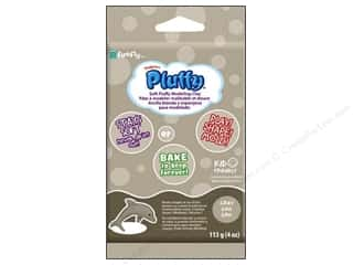 Sculpey Pluffy Clay 4 oz. Grey