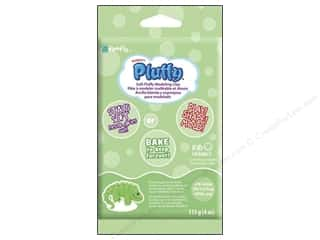 Sculpey Pluffy Clay 4 oz. Lime Green