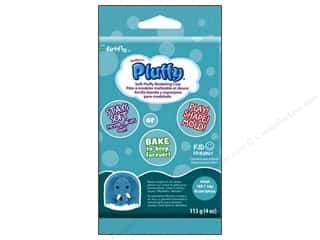 Sculpey Pluffy Clay 4oz Aqua
