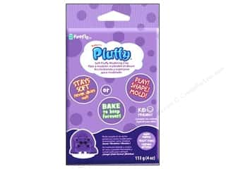 Sculpey: Sculpey Pluffy Clay 4oz Dark Purple