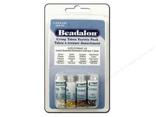Beadalon Beadalon Crimp: Beadalon Crimp Tubes Variety Pack Size 2 600 pc.