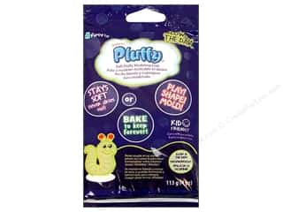 Sculpey Pluffy Clay 4oz Glow in Dark
