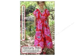 Diane Kimono Dress Pattern