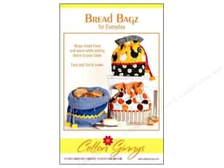 Cotton Ginny's Table Runner & Kitchen Linens Patterns: Cotton Ginnys Bread Bagz For Everyday Pattern