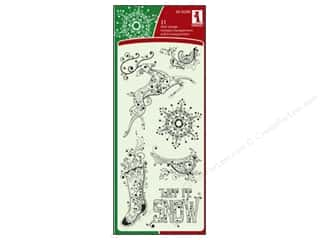 Inkadinkado Clear Stamp Artistic Holiday
