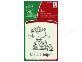 Inkadinkado Clear Stamp Mini Santa's Helper