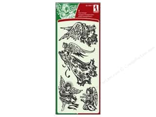Inkadinkado InkadinkaClings Clear Stamp Holiday Angels
