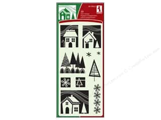 Inkadinkado Clear Stamp Winter Homes