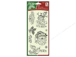 Inkadinkado Clear Stamp Christmas Filigree
