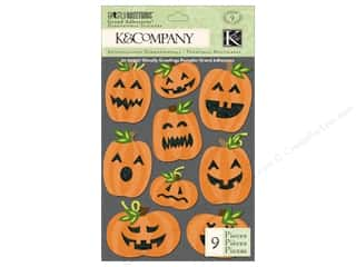 K&Co Grand Adhesions Ghostly Greeting Pumpkin