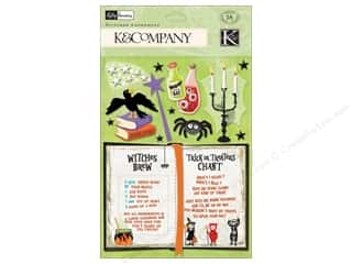 K&Co Adornments Stitched KP Halloween Spell Book
