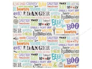 K&Co Paper 12x12 KP Halloween Word (25 sheets)
