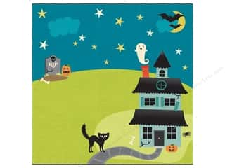 Scrapbooking Yards: K&Company Paper 12x12 Ghostly Greetings Haunted Yard (25 sheets)