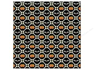 K&Co Paper 12x12 Ghostly Greetings Pumpkn Cat Bone (25 sheets)
