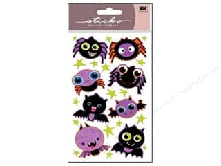 EK Sticko Stickers Sparkler Bats And Spiders