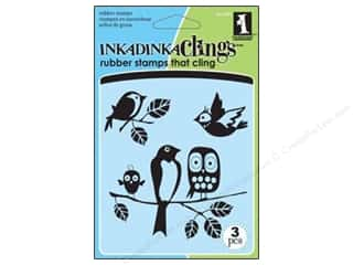 Inkadinkado Stamp Inkadinkaclings Fun Birds