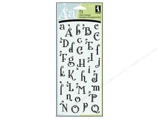 Inkadinkado Clear Stamp Gem Stone Alpha