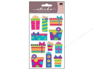Books Birthdays: EK Sticko Stickers Sparkler Colorful Gifts