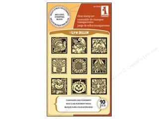 Inkadinkado Clear Stamp Inchies Fall Decor
