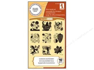 Inkadinkado InkadinkaClings Clear Stamp Autumn Time