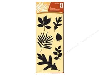 Inkadinkado Clear Stamp Fall Leaves