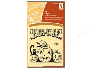 Inkadinkado Clear Stamp Mini Jack O Lanterns