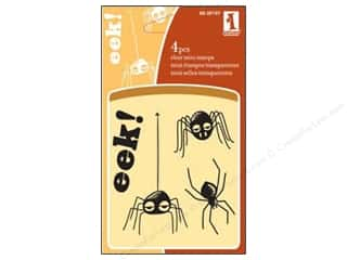 Inkadinkado Clear Stamp Mini Fun Spiders