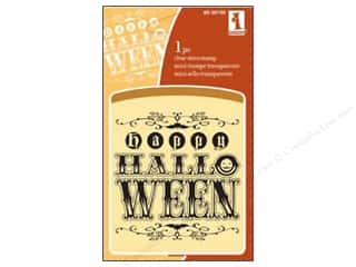Inkadinkado Clear Stamp Mini Happy Halloween