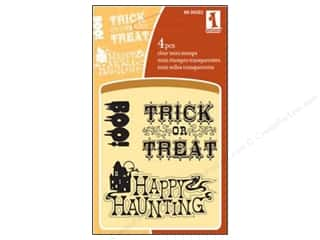Inkadinkado Clear Stamp Mini Halloween Expressions