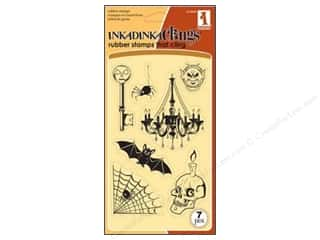 Inkadinkado InkadinkaClings Stamp Haunted Night