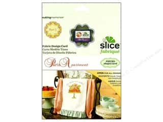 Tea & Coffee Clearance: Slice Design Card Making Memories Fabrique Paris Apartment