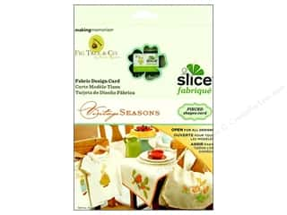 quilting notions: Slice Design Card Making Memories Fabrique Seasons