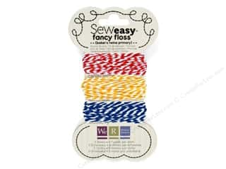 We R Memory Sew Easy Floss 3 Twine Primary 26yd