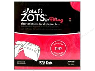 Therm O Web Zots Box Bling Tiny 1/8&quot;x 1/64&quot; 975pc