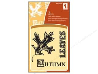 Inkadinkado InkadinkaClings Clear Stamp Autumn Leaves