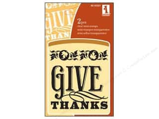 Inkadinkado Clear Stamp Mini Give Thanks