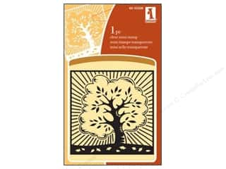 2013 Crafties - Best Adhesive: Inkadinkado InkadinkaClings Clear Stamp Mini Autumn Tree