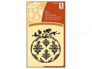 Inkadinkado Clear Stamp Mini Victorian Pumpkin