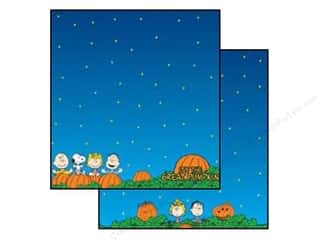 Halloween paper: EK Paper 12x12 Peanuts Great Pumpkin (25 sheets)