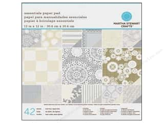 Anniversary Dollar Sale Butterfly: Martha Stewart Paper Pad 12x12 Kraft Doily Lace