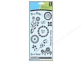 Inkadinkado InkadinkaClings Clear Stamp Party Favors